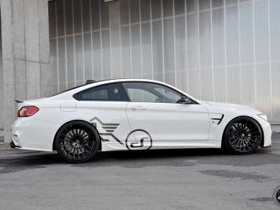 M4 F82 Coupé 530HP Black&white